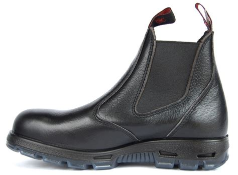 Slip On Work Boots Leather Slip On Boots Redback Boots