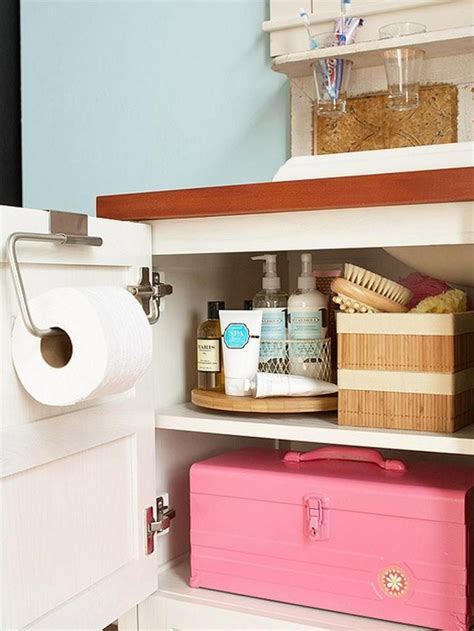 Small Bathroom Storage Tips and Tricks The Spruce