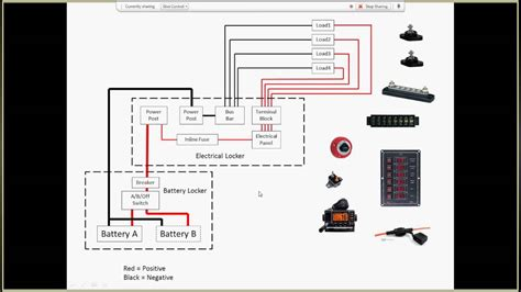 Small Boat Wiring Schematic