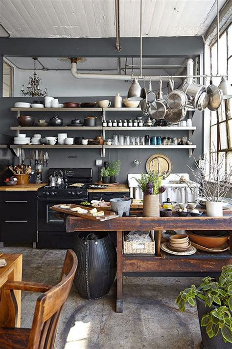 Small Industrial Kitchen Design Ideas Pictures