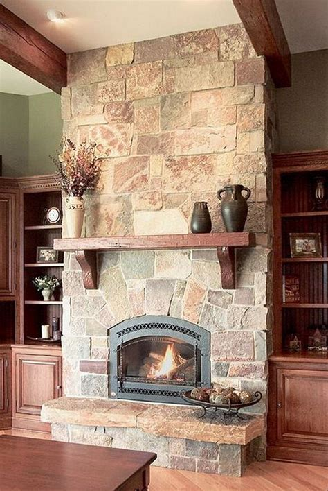 Smart fireplace design ideas for use with contemporary stone
