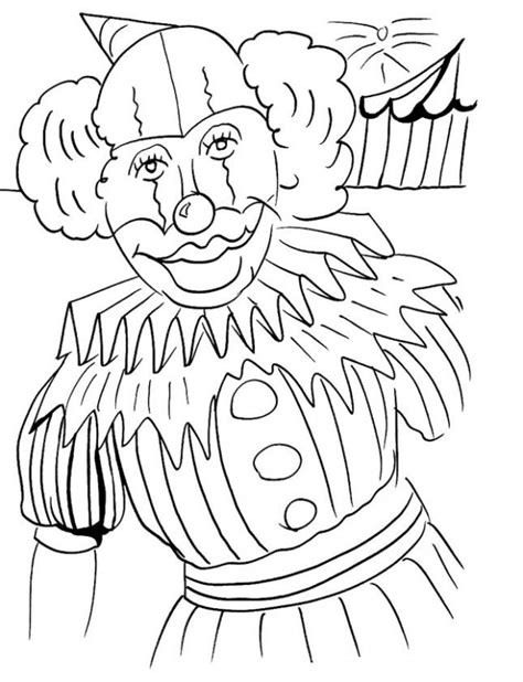 Smiling Joker coloring page Free Printable Coloring Pages