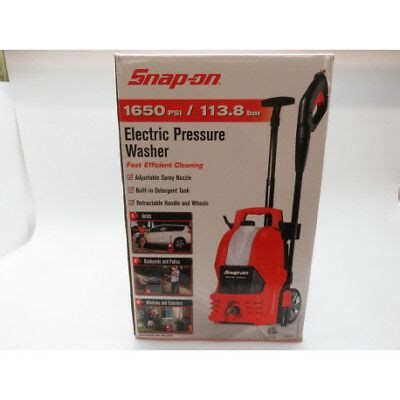 Snap on 1650 PSI 1 25 GPM 12 Amp Electric Pressure Washer