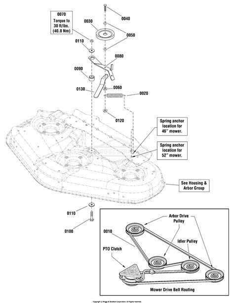 Snapper NXT2346 Parts List and Diagram 2690847
