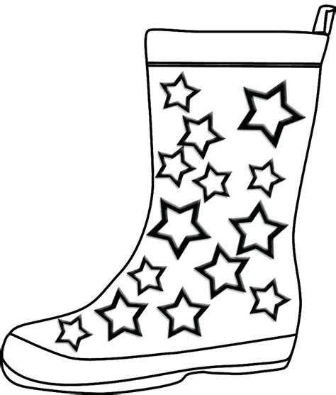 Snow Boots coloring page Free Printable Coloring Pages