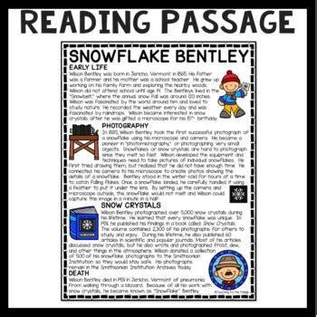 Snowflake Bentley Biography