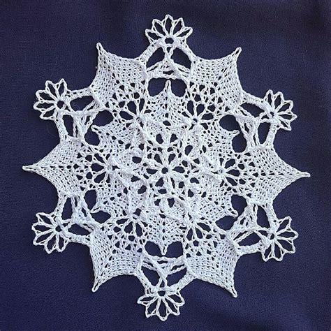 Snowflake Doily Free Crochet Pattern Craftown