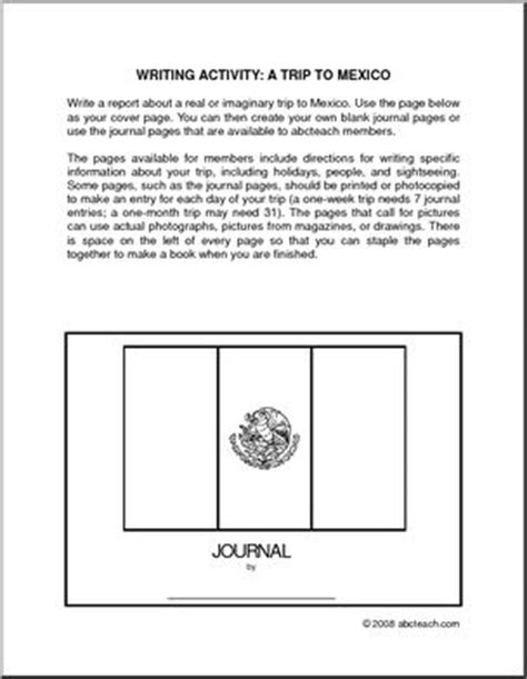 Social Studies Mexico Worksheets page 1 abcteach