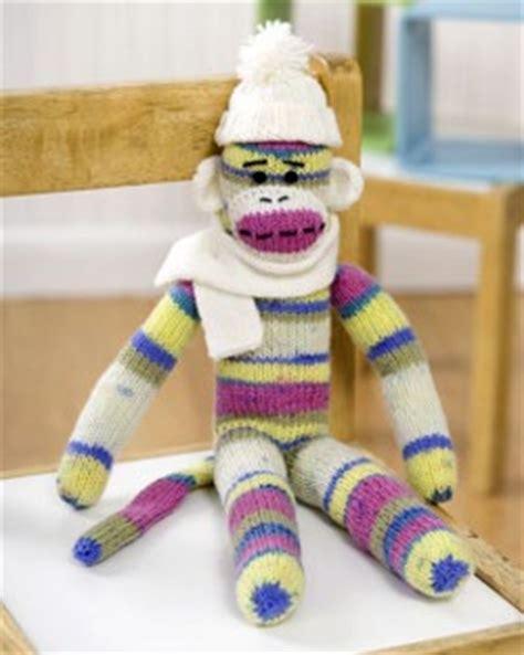 Sock Monkey Knitting Pattern FaveCrafts