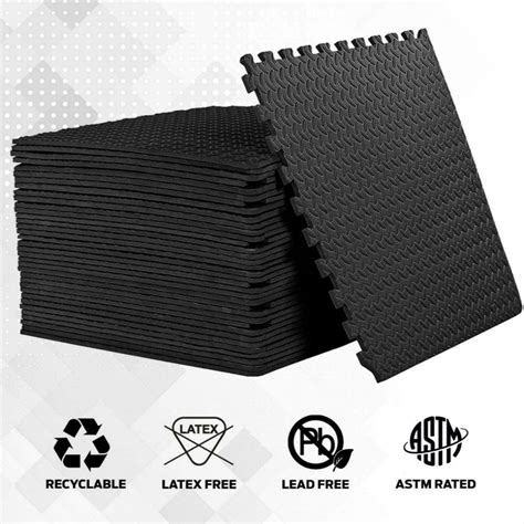 Soft Foam Floor Tiles and Interlocking Puzzle Mats from