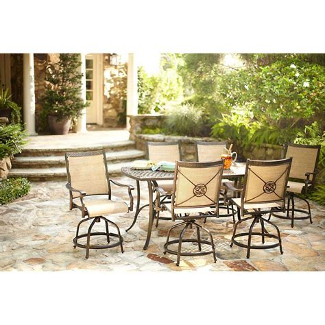 Solana Bay 7 Piece Patio Dining Set The Home Depot