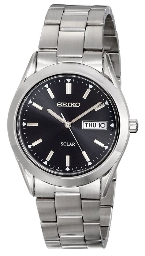 Solar Watches for Men Reviews of the Best Brands Seiko