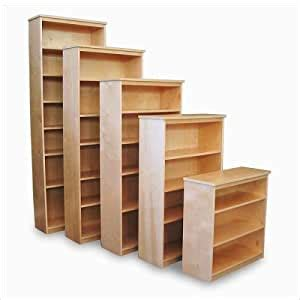 Solid Wood Bookcases Birch Gothic Cabinet Craft