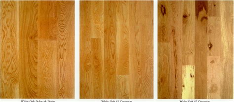 Solid and Engineered Hardwood Flooring Grades Guide