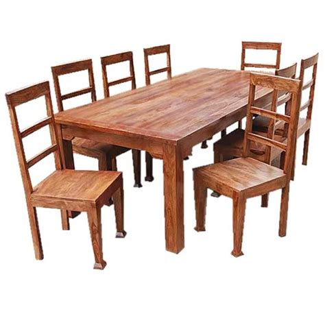 Solid wood rustic dining tables Rustic Funiture Outlet