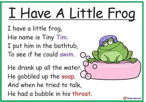 Songs Poems and Nursery Rhymes Archives K 3 Teacher