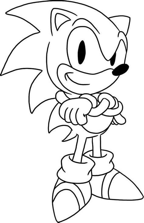 Sonic Coloring Pages Free Printable Coloring Pages