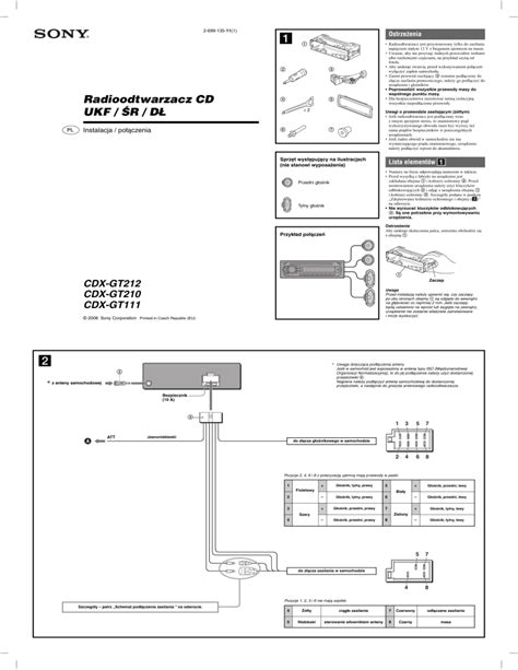 sony cdx gt260mp wiring diagram images radio wiring diagrams sony cdx cdx gt210 operating instructions manual