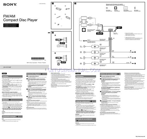 sony cdx gt wiring diagram images need wiring diagram for auto sony cdx gt270mp wiring diagram