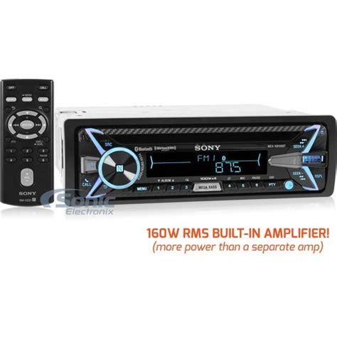 Sony MEX XB100BT Stereo w Built In Sonic Electronix