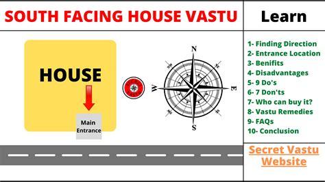 Beautiful Vastu For South Facing House Plans Contemporary - 3D ...