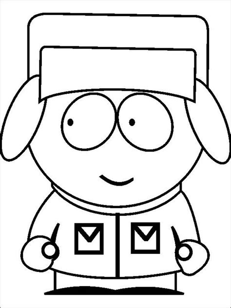 South Park Coloring Pages Free and Printable