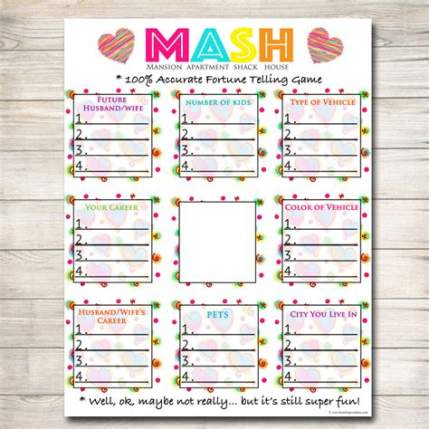 Spa Party Games Free Printable Games and Activities for a