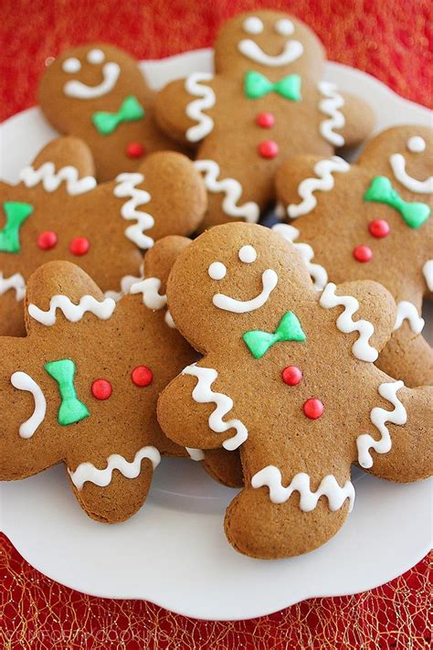 Spiced Gingerbread Man Cookies The Comfort of Cooking
