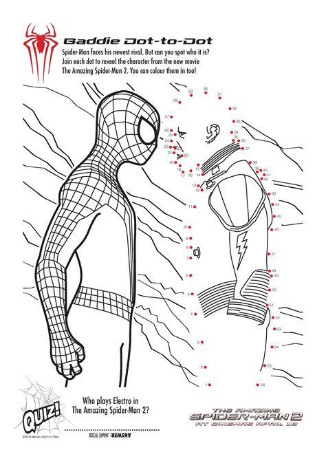 Spider Man Crafts colorig pages and activities for kids