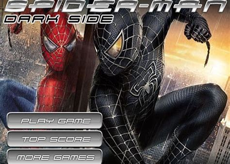 Spiderman Dark Side Games Play Free Cartoon Game Online