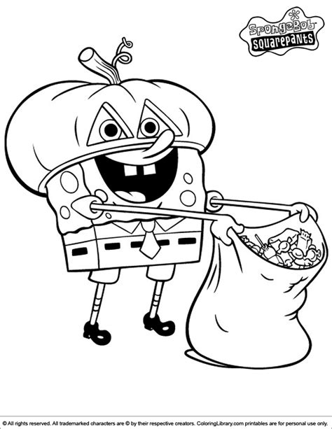 Spongebob Coloring Pages GetColoringPages