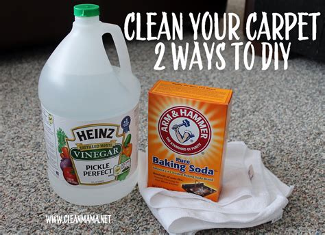 Spring Cleaning Carpet Cleaning 2 Ways to DIY