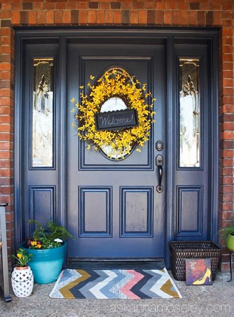 Spring Door Decoration Better Homes and Gardens