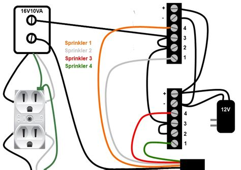 3 valve hunter sprinkler system wiring diagram images hunter sprinkler control wiring re connect diagram plumbing