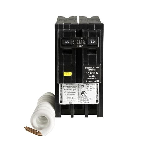 square d 2 pole gfci breaker wiring diagram images square d homeline 20 amp 2 pole ground fault circuit breaker