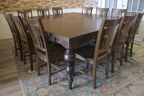 Square Dining Table For 12 People designatian