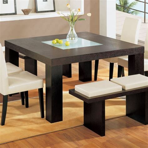 Square Modern Dining Table Houzz