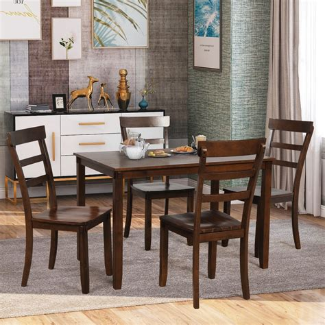 Square table kitchen Dining Room Furniture Bizrate