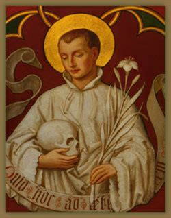 St Aloysius Gonzaga Saints Angels Catholic Online