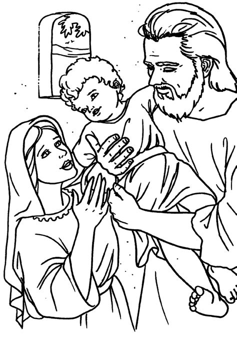St Joseph Free Printable Coloring Book Catholic Icing