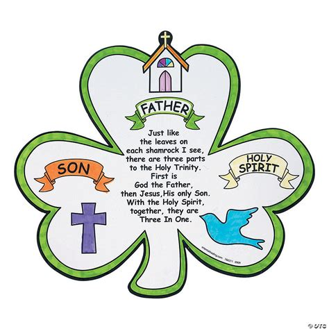St Patrick The Trinity and the Shamrock