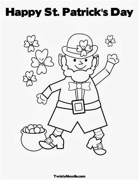 St Patrick s Day Coloring Pages PrimaryGames Play