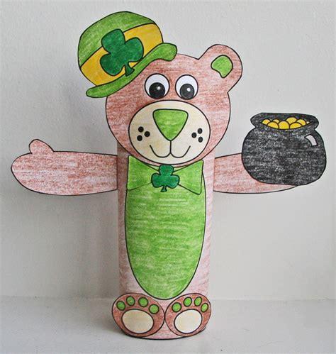 St Patrick s Day Crafts for Kids dltk holidays