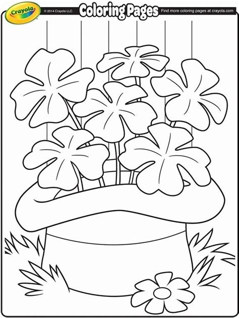 St Patrick s Day Free Coloring Pages crayola