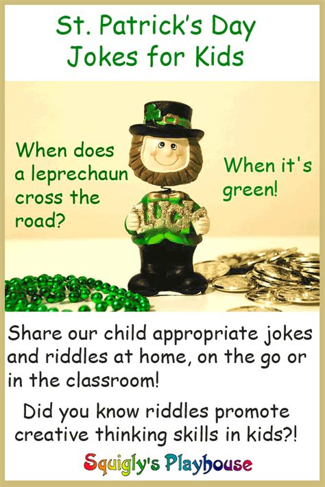 St Patrick s Day Jokes and Riddles at Squigly s Playhouse