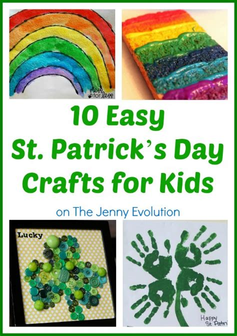 St Patrick s Day crafts for kids printables Just is a