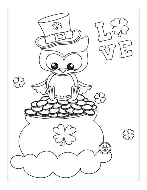 St Patricks Day Coloring Pages Printable