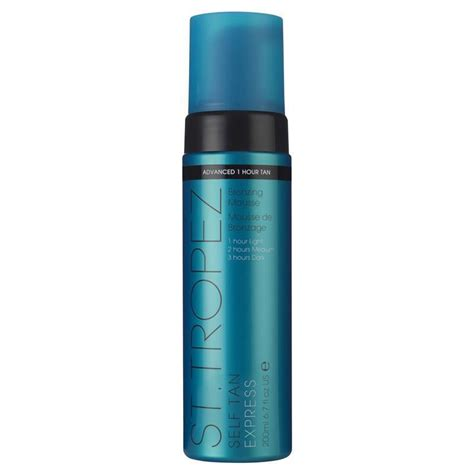 St Tropez Self Tan Express Bronzing Mousse 200ml Boots