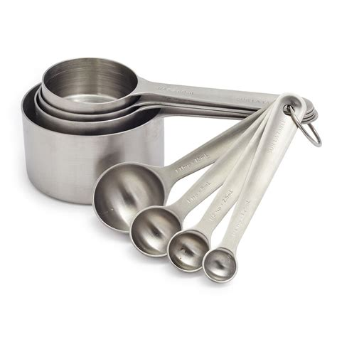 Stainless Steel Measuring Cups Set of Eight Sur La Table