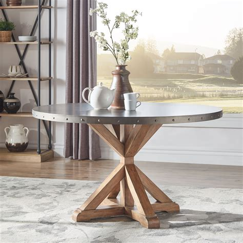 Stainless Steel Top Dining Table ShopStyle